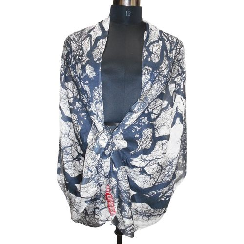 Get Wrapped Printed Modal Blend Women's Scarf