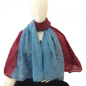 Hepburnette Self Design Cotton Women's Scarf
