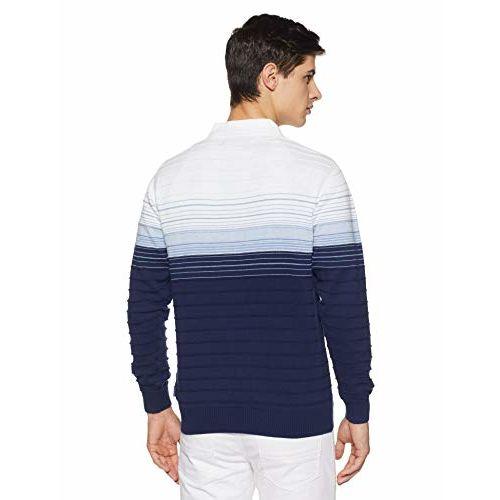 Monte Carlo Men's Sweater (1184309VN-1-38_Multi Shade_38)