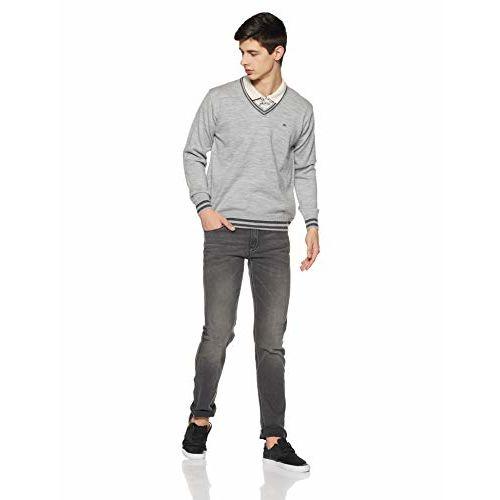 Monte Carlo Men's Sweater (1180532VN-3-38_Multi Shade_38)