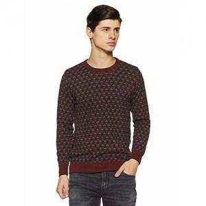 Monte Carlo Men's Sweater (1184315RN-2-38_Multi Shade_38)