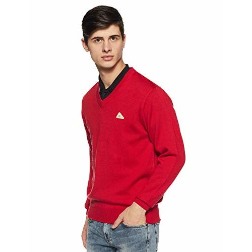 Monte Carlo Men's Sweater (1180115VN-2401-38_Red_38)