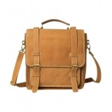 Romari Tan Leather Laptop Bag