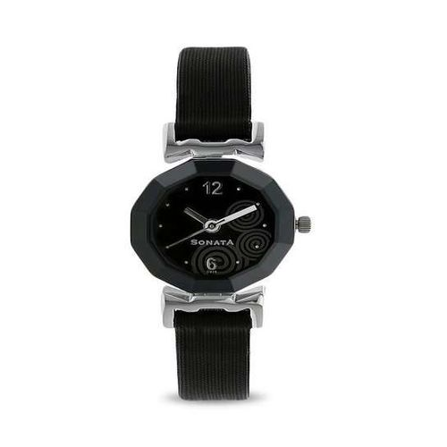 Sonata Yuva Analog Black Dial Women's Watch