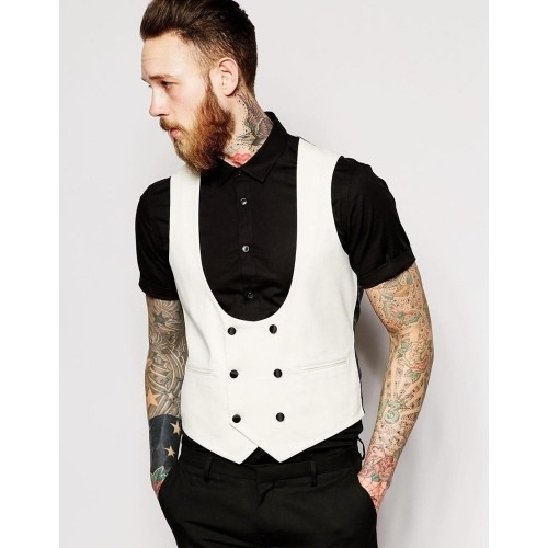 Waistcoats suffer from a bad rap due to many men wearing them in unstylish, unflattering ways. However, the waistcoat can help you look sharp, refined, well put together & flatters most body types.