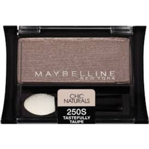 Maybelline New York Expert Wear Eyeshadow Singles, Chic Naturals 250s Tastefully Taupe, 0.09 Ounce (3 Pack)