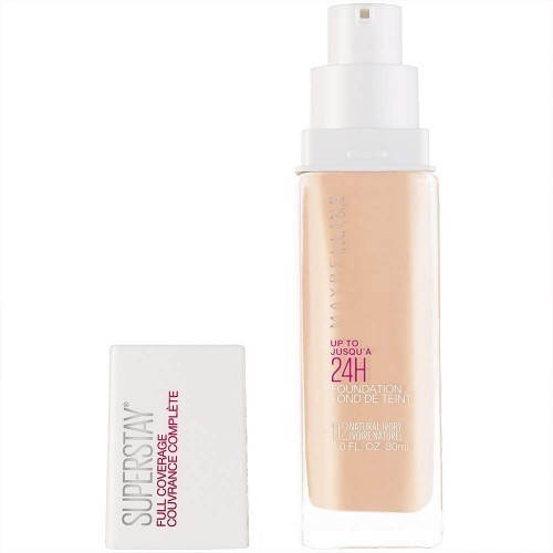 Maybelline Stay Full Coverage Foundation (Natural Ivory, 1 fl. oz)