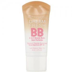 Maybelline Dream Fresh BB 8-in-1 Beauty Balm Skin Perfector SPF 30, Light/Medium, 1 oz by Maybelline