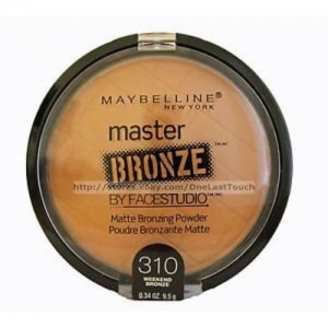 Maybelline Facestudio Master Bronze Powder - 310 - Weekend Bronze - 1pc