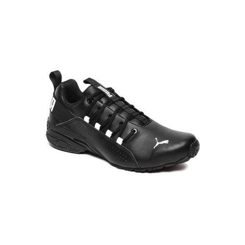 0320cee551dbdd Buy Puma Men Black Hexa Dot Running Shoes online