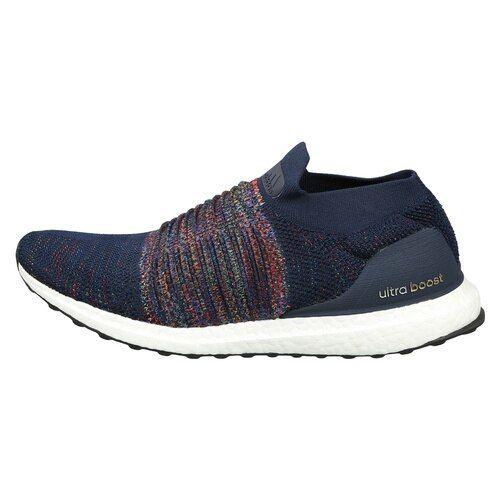 56e32c80f16 ... Adidas Men Navy Blue UltraBOOST Laceless Woven Design Running Shoes ...