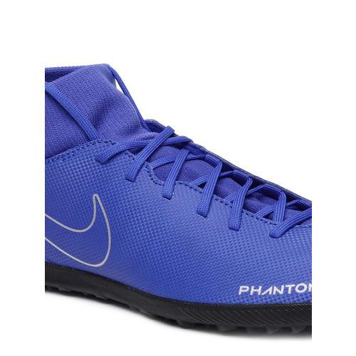 Nike Men Blue Phantom VSN Club DF TF Football Shoes