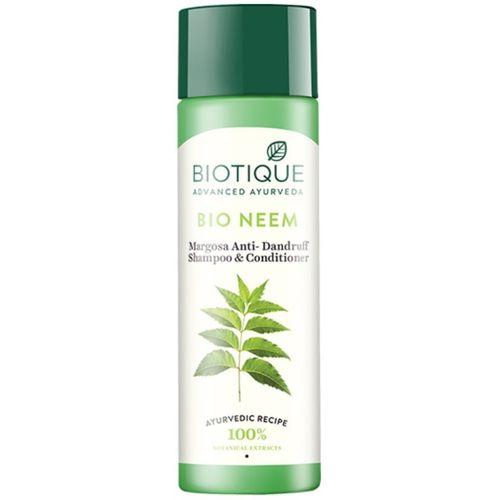 Biotique Bio Neem Margosa Anti Dandruff Shampoo and Conditioner(190 ml)