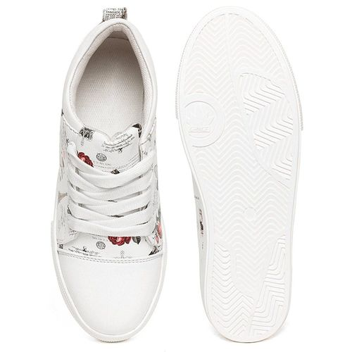 Clymb LS-9 White Perfect Women's Premium Casual Shoes