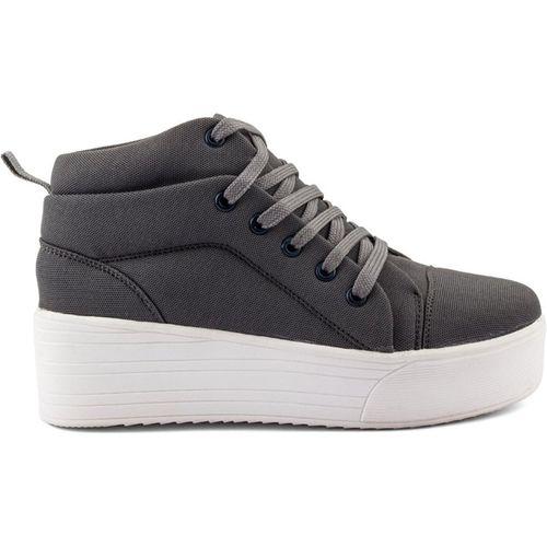 Clymb Queen-1 Grey Heel Sneakers For Women's In Various Sizes