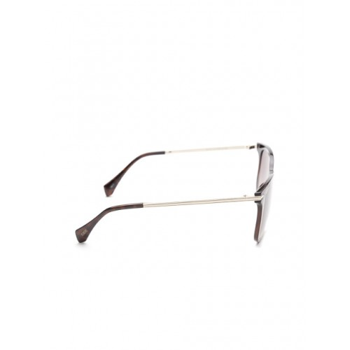 I DEE Brown Square Men Sunglasses