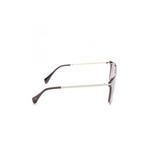 I DEE Brown Square Men Sunglasses