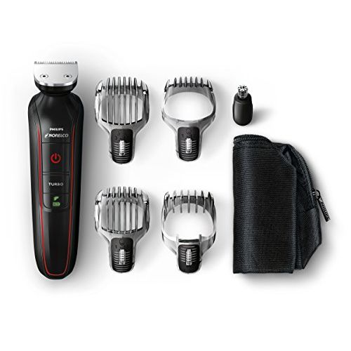Philips Norelco QG3372/41 Multigroom Beard, Stubble, Hair, Nose and Body Trimmer