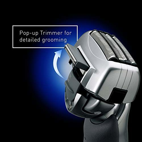 Panasonic ES-LA63-S Nanotech 4-Blade (Arc 4) Multi-Flex Dual-Motor Electric Shaver