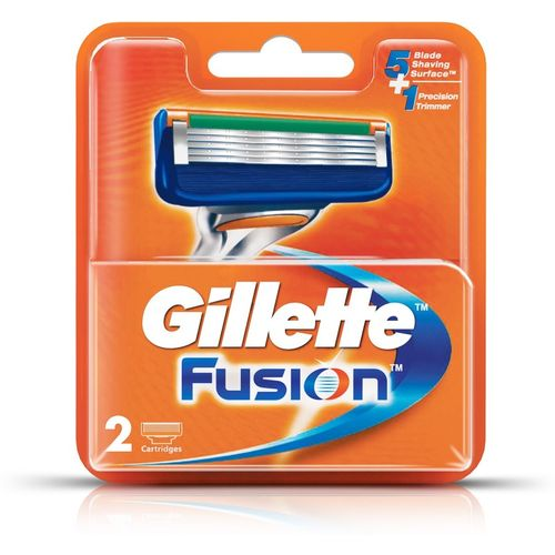 Gillette Fusion Cartridges(Pack of 2)