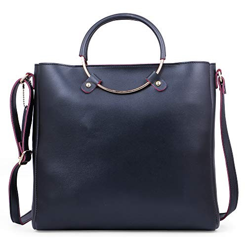 Speed X Fashion Black Leather Handbags And Shoulder Bag Combo