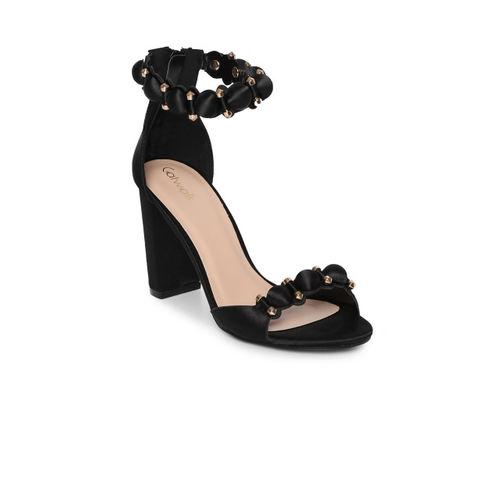 Catwalk Women Black Solid Sandals