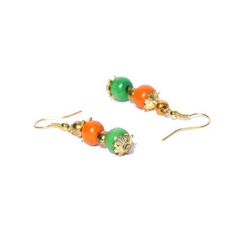 PRITA Multicoloured Beaded Handcrafted Jewellery Set