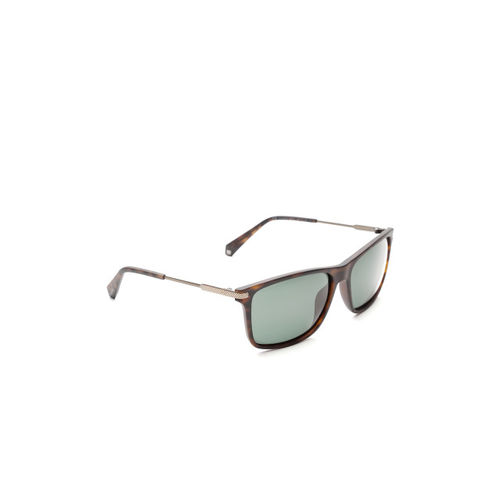 Polaroid Unisex Polarised Rectangle Sunglasses 2063/S N9P 58UC