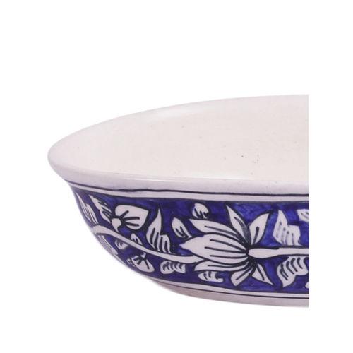 VarEesha Blue Printed Ceramic Set