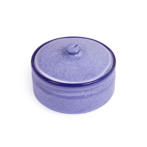 VarEesha Blue Solid Set of 3 Ceramic Bowls