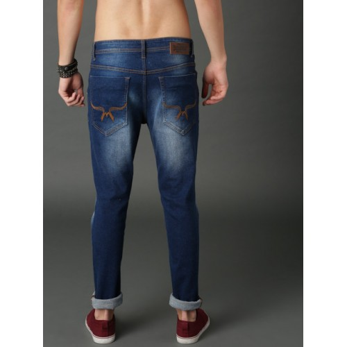 Roadster Navy Blue Denim Casual Jeans