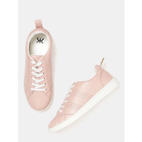 Kook N Keech Women Dusty Pink Sneakers