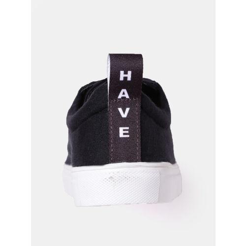 Kook N Keech Women Black Sneakers