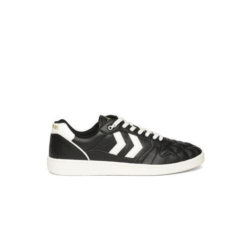 hummel Unisex Black HB Team Quilt Sneakers