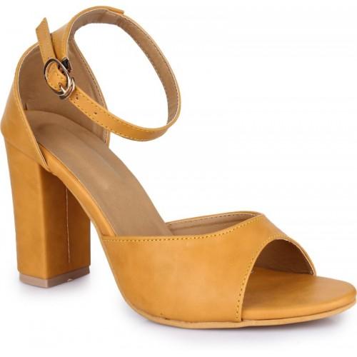 Voguewear Women mango Heels