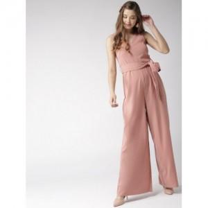 20Dresses Dusty Pink Solid Basic Jumpsuit