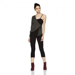 20b6376f84 Stalk Buy Love CheckeAria One-Sleeve Jacket Style Jumpsuit