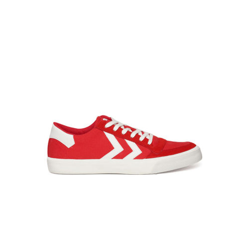 hummel Unisex Red Sneakers