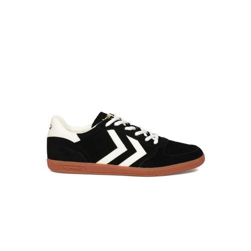 hummel Unisex Black Suede Sneakers