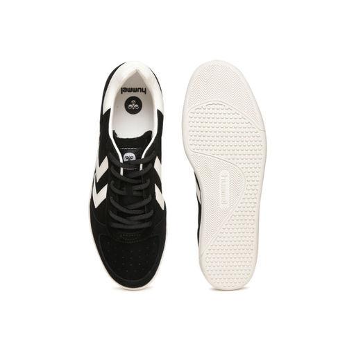 hummel Unisex Black Victory Suede Sneakers
