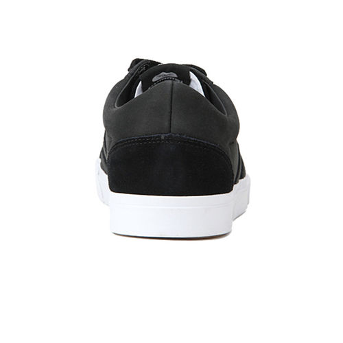 hummel Unisex Black Leather Baseline Court Sneakers