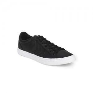 hummel Unisex Black Deuce Court Sneakers