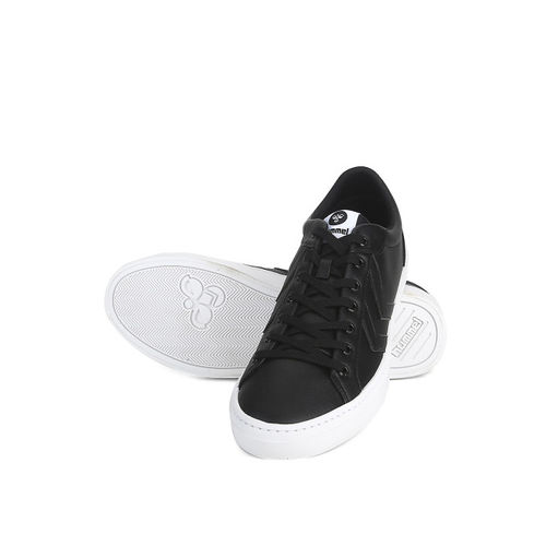 hummel Unisex Black Deuce Court Sneakers