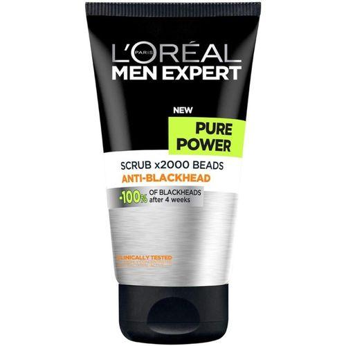 L'Oreal Paris Men Expert Pure Power Scrub x2000 Beads Anti-Blackhead Face Wash - 150ml Face Wash(150 ml)