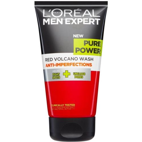 L'Oreal Paris Men Expert Pure Power Red Volcano Anti-Imperfections Face Wash - 150ml Face Wash(150 ml)