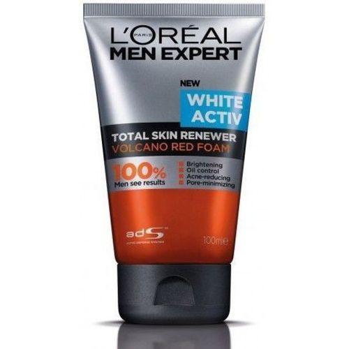 L'Oreal Paris Men Expert White Activ Volcano Red Foam Face Wash(100 ml)