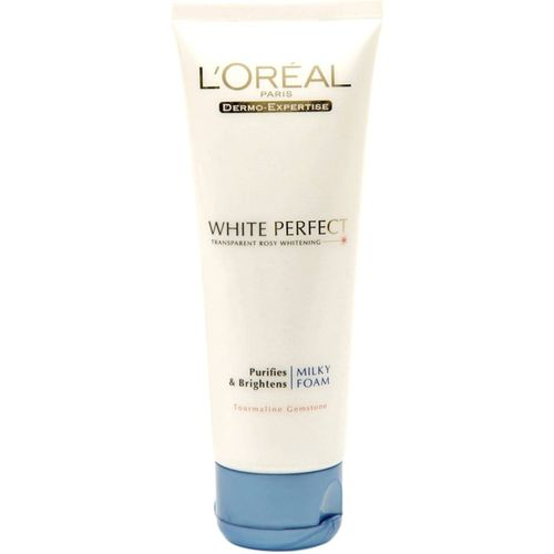 L'Oreal Paris White Perfect Purifying & Brightening Milky Foam Face Wash(99 ml)