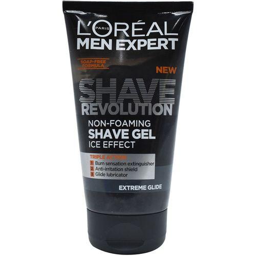 L'Oreal Paris Men Expert Shave Revolution Non-Foaming Shave Gel, Ice Effect, Extreme Glide - 150ml(150 ml)