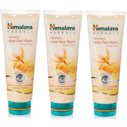 Himalaya Fairness Kesar (Set of 3) Face Wash(100 ml)