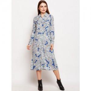 Buy Alia Bhatt For Jabong Linen Star Print Shirt Dress online ... c346532bb